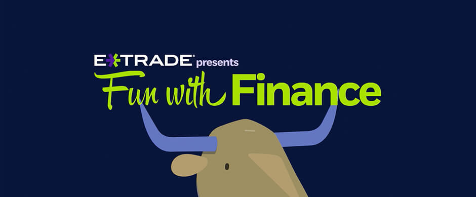 """ETrade: """"Fun with Finance"""" animated series"""